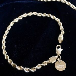 Other - EXCLUSIVE 18K GOLD ROPE BRACELET MADE IN ITALY